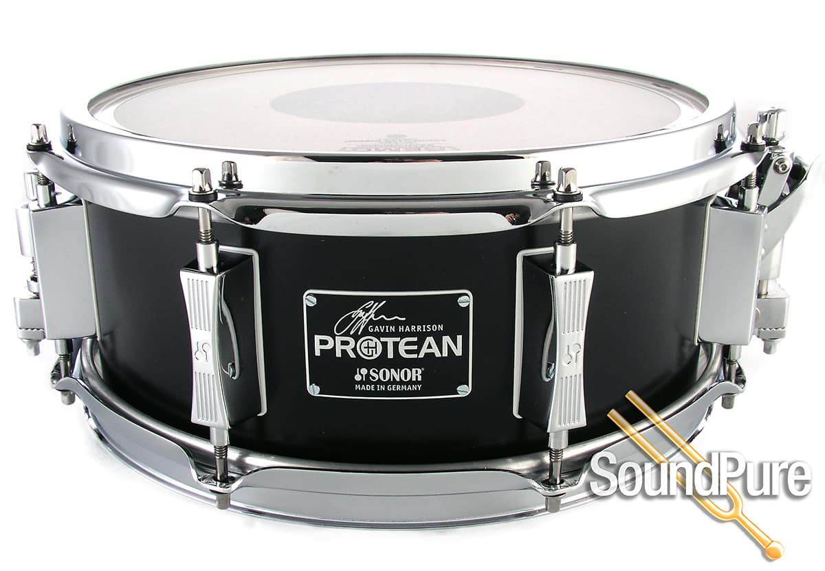 sonor 12x5 gavin harrison protean snare drum w accessories reverb. Black Bedroom Furniture Sets. Home Design Ideas