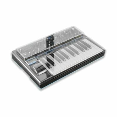 Decksaver Novation Bass Station II Cover (smoked clear)