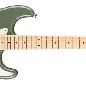Fender American Pro Stratocaster HSS Shawbucker - Maple Fingerboard - Antique Olive for sale