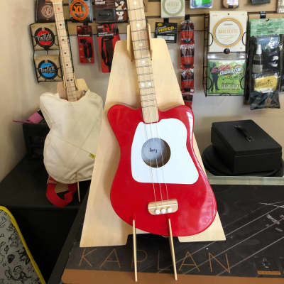 Loog Mini Red with Stand