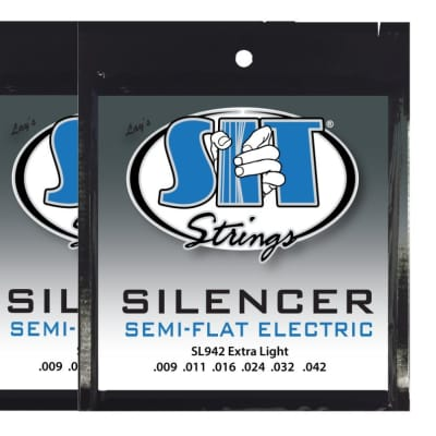 S.I.T S.I.T. Strings SL942 Silencer Electric Guitar Strings - 2 PACK for sale