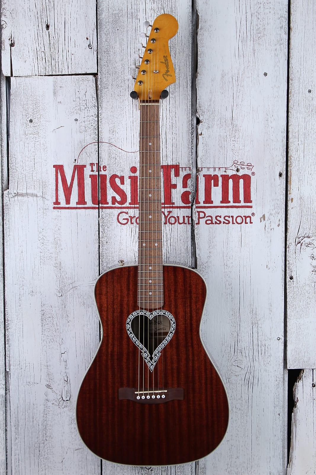 Fender® Alkaline Trio Malibu Folk Body Acoustic Guitar