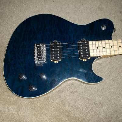 Silvertone Fastback Guitar Flamed Top Wolfgang for sale