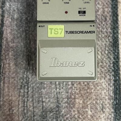 Used Ibanez TS7 Tube Screamer Overdrive Pedal