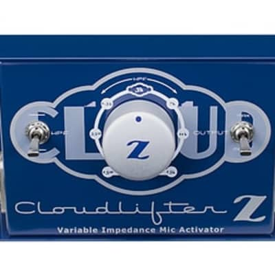 Cloud Microphones Cloudlifter 1-Channel Mic Activator W/Variable Impedance CL-Z