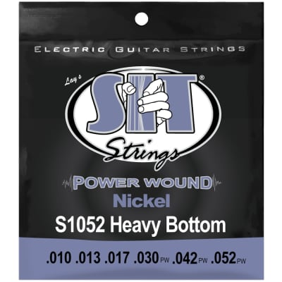 SIT Strings S1052 Heavy Bottom Power Wound Nickel .010-.052