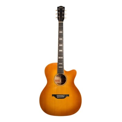 Tokai Terra Nova S4 Model Contemporary Cutaway Acoustic-Electric Guitar (Honey Burst) for sale
