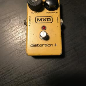 mxr distortion plus history