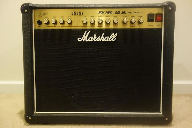 marshall jcm 2000 dsl 401 combo upgraded speaker reverb. Black Bedroom Furniture Sets. Home Design Ideas