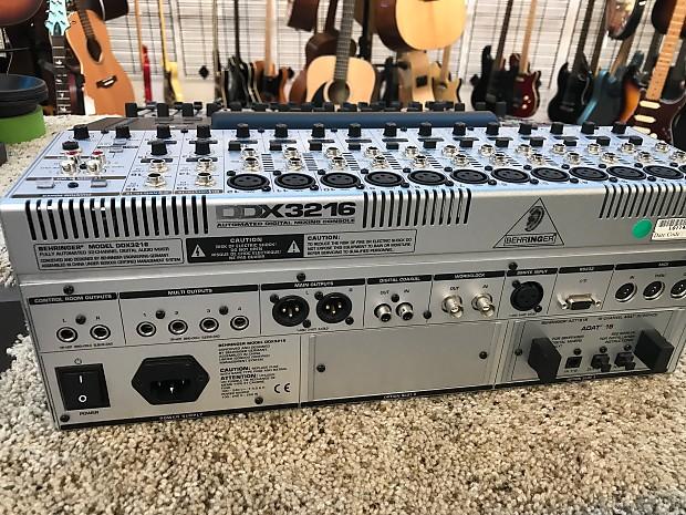 5819 behringer ddx3216 mixer gear exchange llc reverb. Black Bedroom Furniture Sets. Home Design Ideas