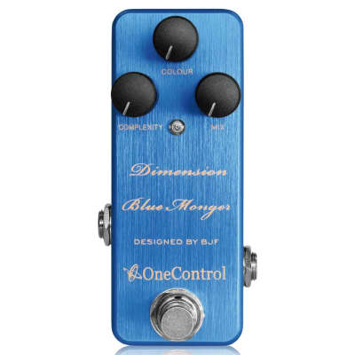 One Control Dimension Blue Monger Modulation BJF Series FX Guitar Effects Pedal for sale