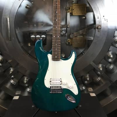 Indiana Sherwood Green Stratocaster w/ Gig Bag for sale