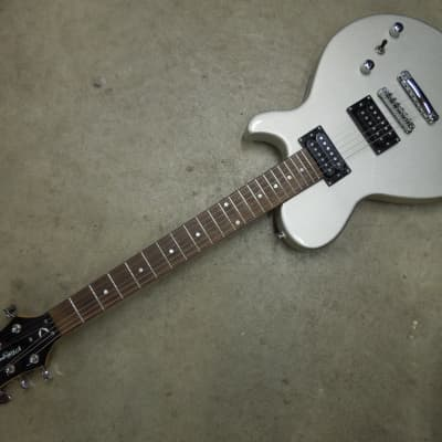 DEAN PLAYMATE 6 STRING ELECTRIC GUITAR - SILVER SILVER for sale