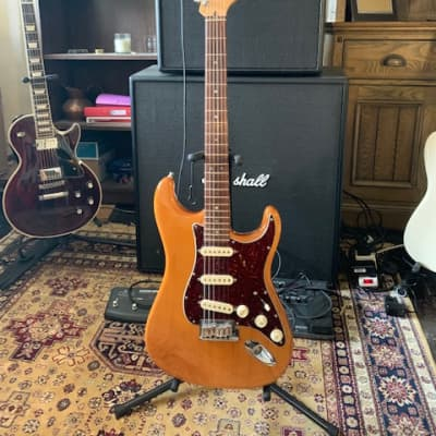 Fender American Deluxe Stratocaster 2006 Amber for sale