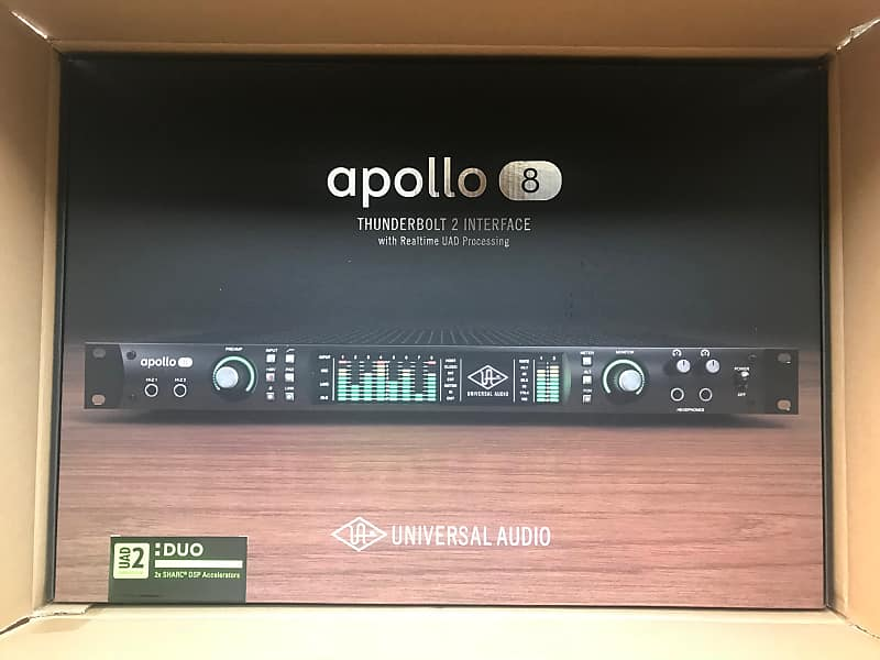 Universal Audio Apollo 8 DUO Thunderbolt 2 Audio Interface +