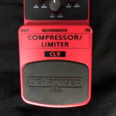 Behringer Compressor Limiter CL9