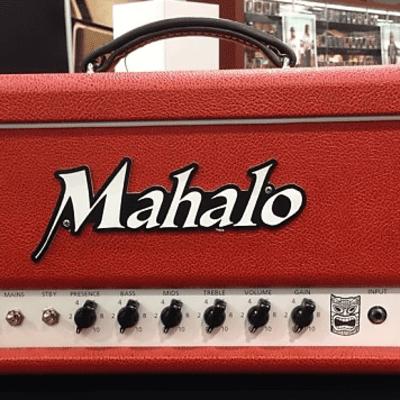 Mahalo Amplification Standard Series Katy66 Head 2019 Red/Black