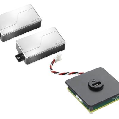 Fishman Fluence Modern Humbucker Set of 2 - Nickel + Rechargeable Battery Pack