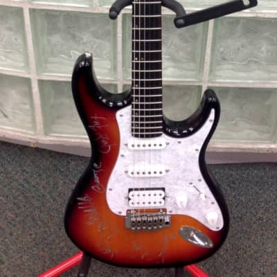 Mitchell TD400 sunburst Electric Guitar - autographed by Dishwalla for sale
