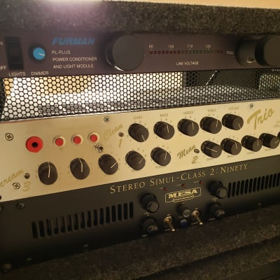 Stereo Guitar Rig - Groove Tubes Trio Preamp, Mesa 2:Ninety Power Amp, Celestions, EVs for sale