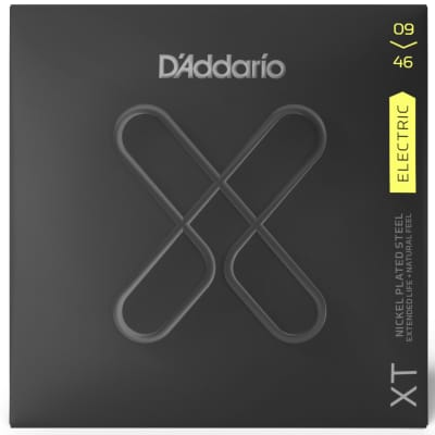 D'Addario XTE0946 Nickel Plated Steel Electric Guitar Strings 09-46 Gauge