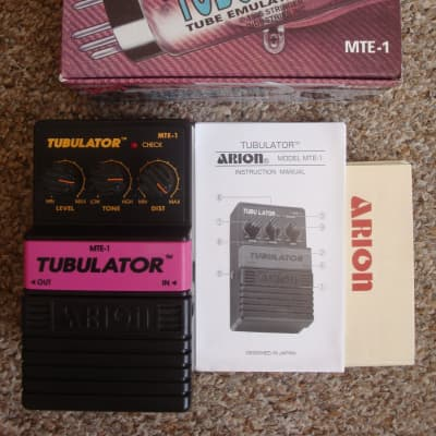 Arion MTE-1 Tubulator  As New for sale