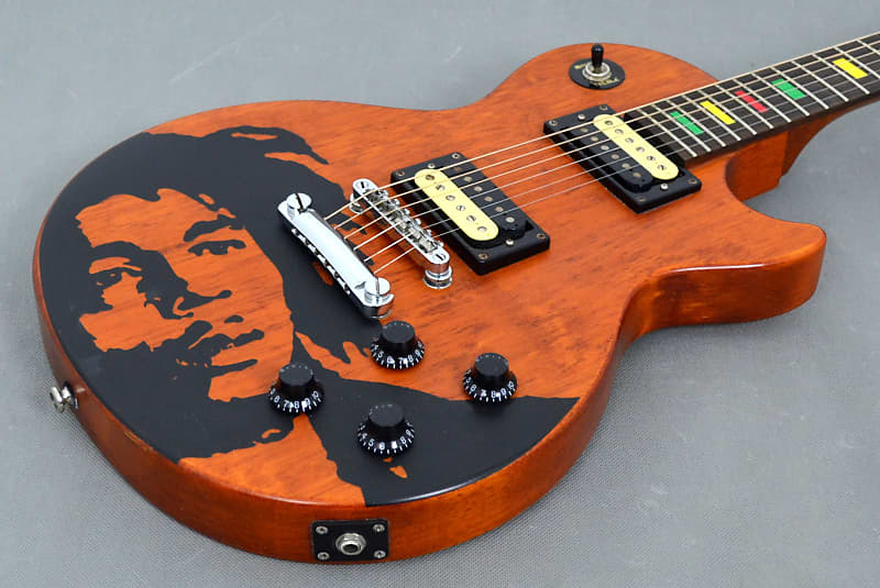 epiphone gibson bob marley one love limited edition 06 reverb. Black Bedroom Furniture Sets. Home Design Ideas