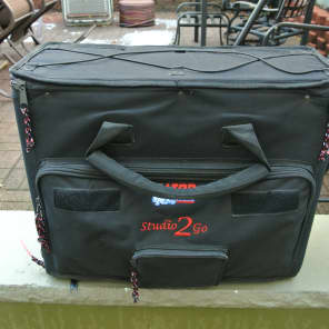 Gator GSR-2U Studio-2-Go Laptop/2U Audio Rack Bag