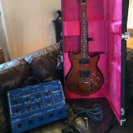 Vintage 1982 Roland GR-300 Analogue Synthesizer Unit & G-303 Guitar.