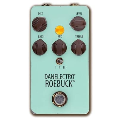 DANELECTRO ROEBUCK DISTORTION PEDAL for sale