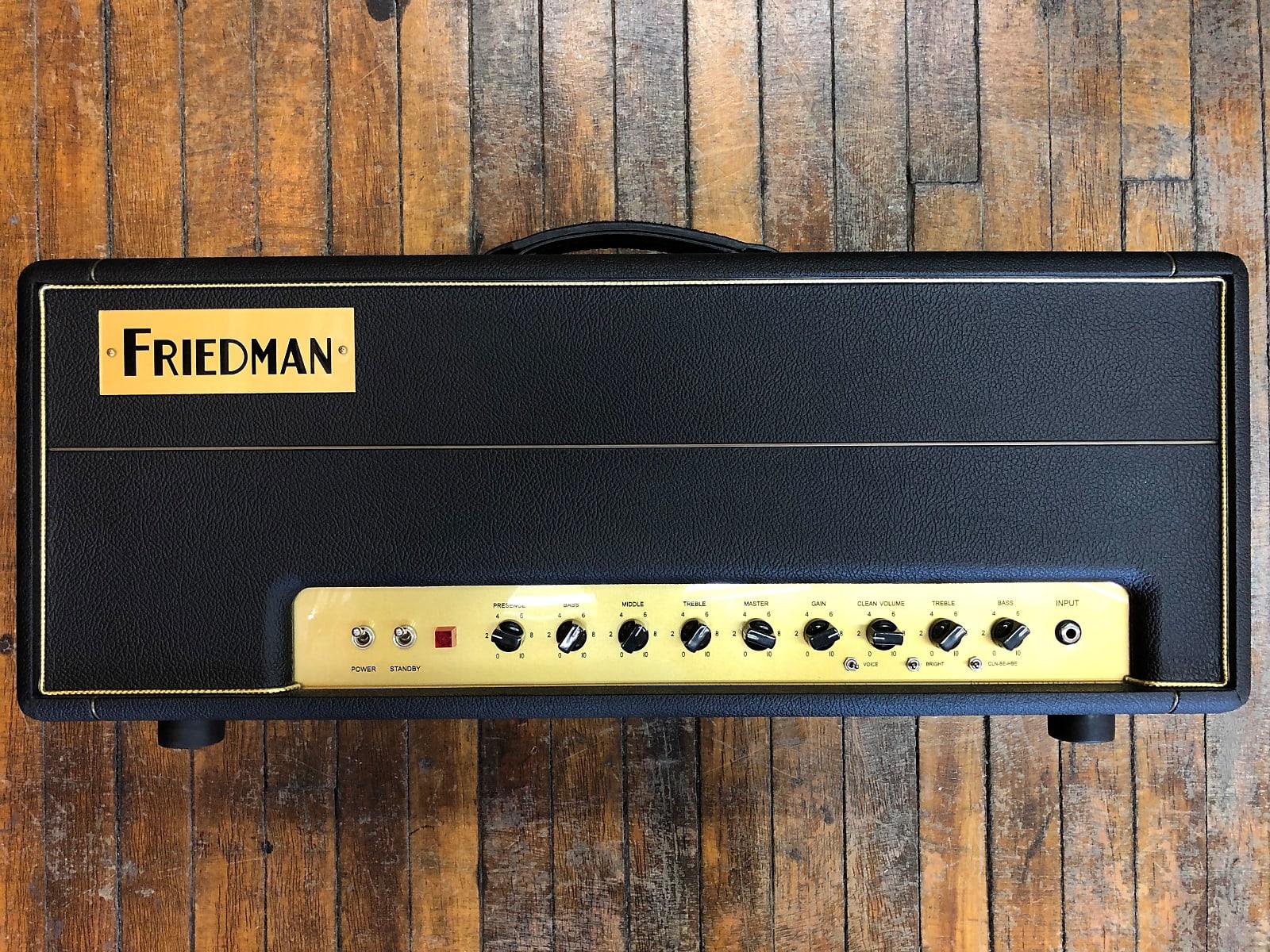 Friedman BE-100 Brown Eye 100-watt 2-channel Tube Head with Boost 2014