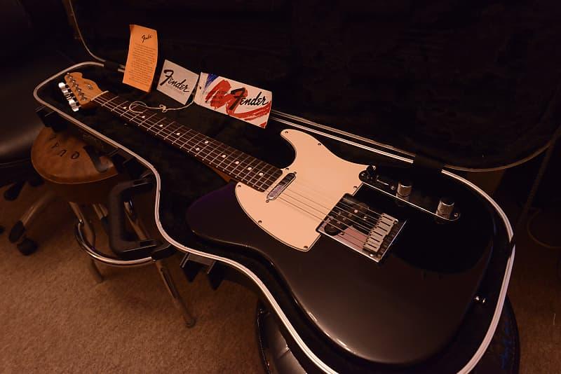 1988 Vintage USA Fender American Standard Telecaster Tuxedo   Reverb