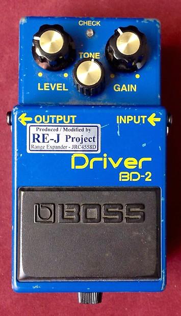 Boss Blues Driver w/ Analogman RE-J mod w/Box | Used Gear