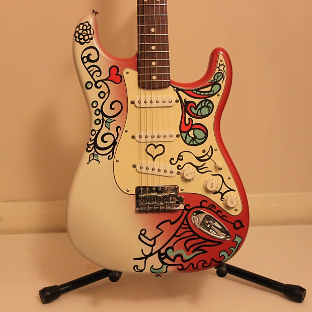 fender stratocaster jimi hendrix monterey pop festival strat reverb. Black Bedroom Furniture Sets. Home Design Ideas