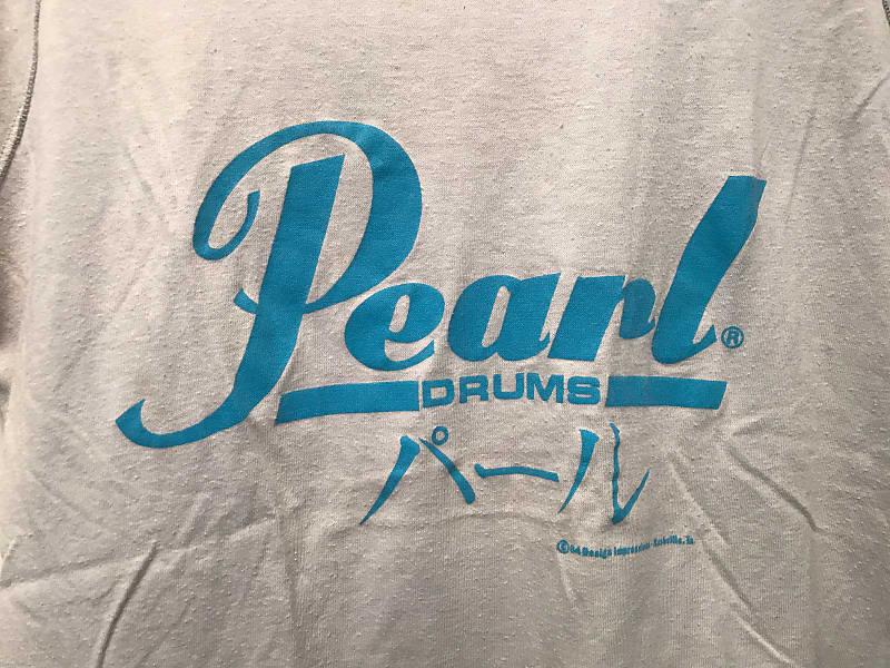 vintage 1984 swoop neck pearl drums tank tee boutique reverb. Black Bedroom Furniture Sets. Home Design Ideas