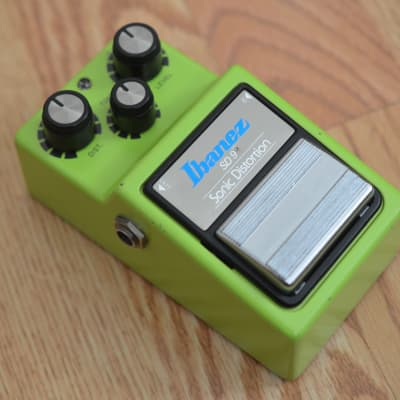 Ibanez SD-9 Sonic Distortion Vintage 1983 Lime Green