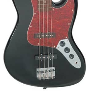 Jay Turser JTB-402 Series Electric Bass Guitar Black for sale