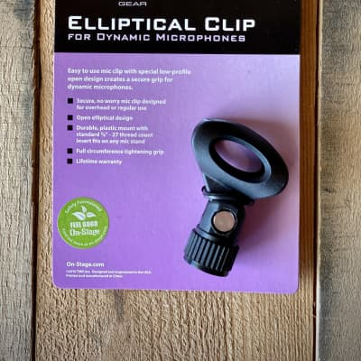 On-Stage MY251 Elliptical Mic Clip