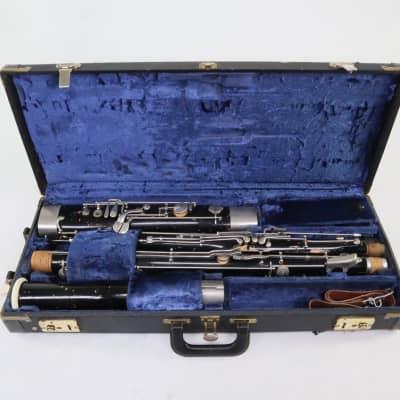 Fox Model II Professional Wood Bassoon SN 724 EARLY MODEL GREAT PLAYER