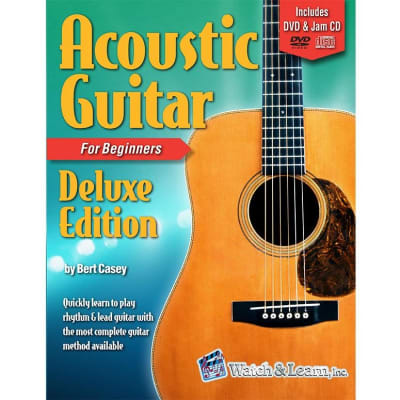 Acoustic Guitar Deluxe Edition - For Beginners (w/ DVD, CDs, & Digital Access)