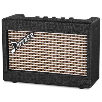 3 Watt Electric Mini Guitar Amplifier Desktop Guitar AMP, Portable and Compact