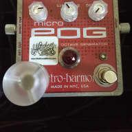 Matthews Effects-modded Electro-Harmonix MicroPOg 2015 Red