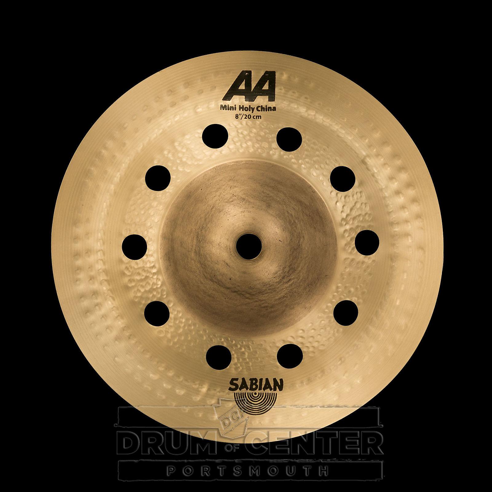 sabian 8 aa mini holy china cymbal reverb. Black Bedroom Furniture Sets. Home Design Ideas