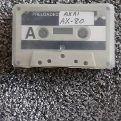 Akai AX-80 1980s Plastic