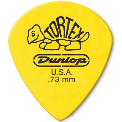 Dunlop 498P73 Tortex Jazz III XL .73mm Guitar Picks (12-Pack)