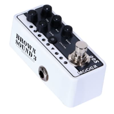 Mooer Micro PreAmp 005 Brown Sound 3  ( aka Fifty-Fifty 3) NEW! based on EVH® 5150