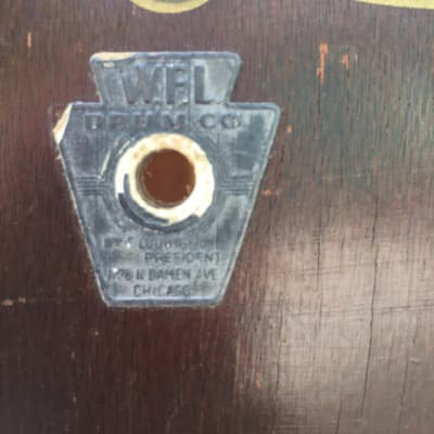 WFL Marching Bass Drum 1940's