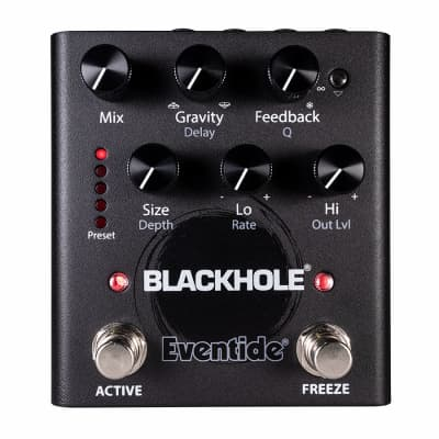 Used Eventide Blackhole Otherworldly Reverb Guitar Effects Pedal
