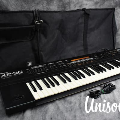 Roland XP-30 64 Voice Expandable Synthesizer In Very Good Condition W/ Soft case