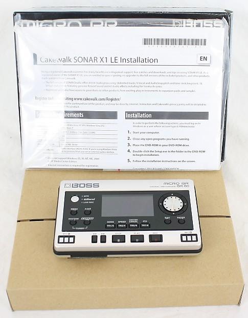 roland boss micro br80 br 80 digital multi track recorder 64 reverb. Black Bedroom Furniture Sets. Home Design Ideas